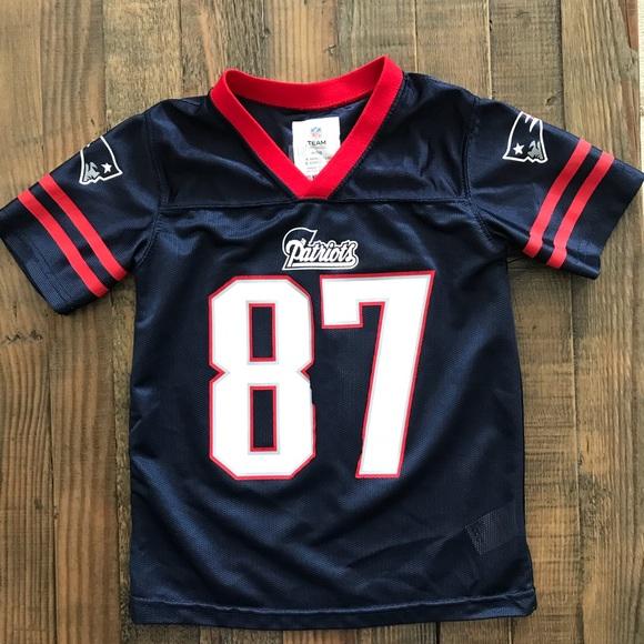 7b0c70ff Kids - NFL Team Apparel Replica Gronk Jersey